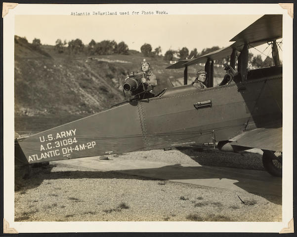 [AERONAUTICS.] Photograph album, S.F., Crissy Field.
