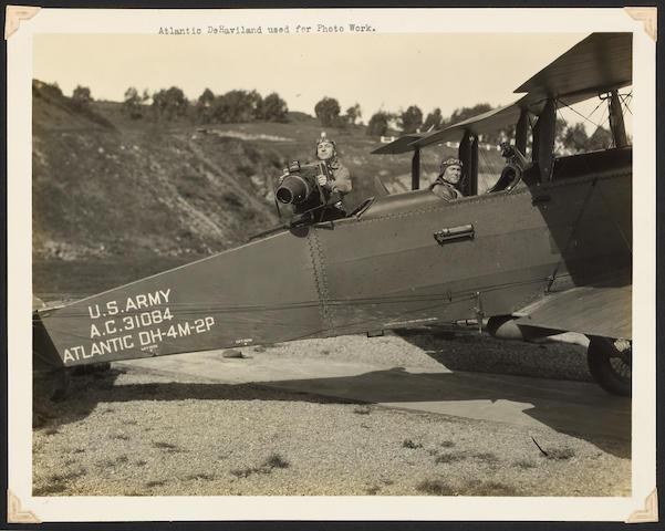 [AERONAUTICS.] Photograph album, S.F., Crissy Field.
