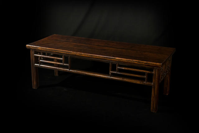 A Chinese jumu low table  19th century