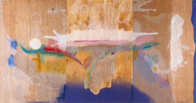 Helen Frankenthaler (American, born 1928); Madame Butterfly;
