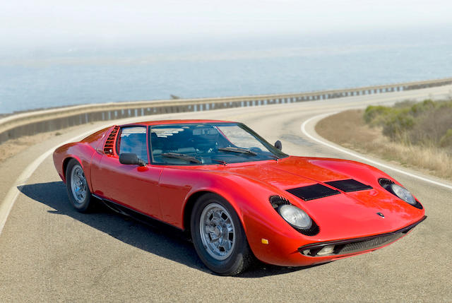 Under 38,000 kilometers from new,1967 Lamborghini Miura P400 Berlinetta  Chassis no. 3063 Engine no. 2102