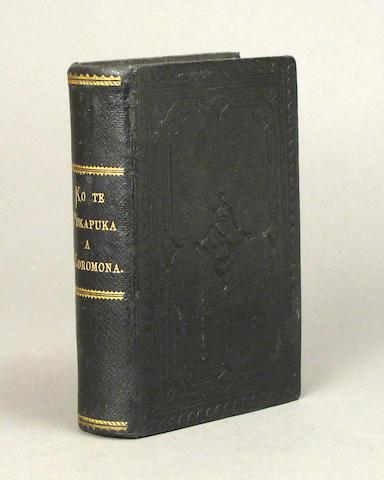 [BOOK OF MORMON--MAORI.]