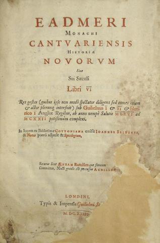 EADMER, MONK OF CANTERBURY. D.1124?