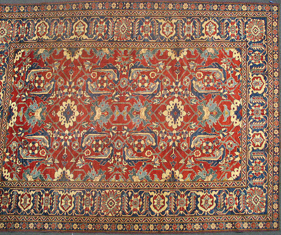 An Afghan carpet