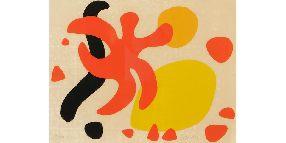 Alexander Calder (American, 1898-1976); Untitled (Composition);