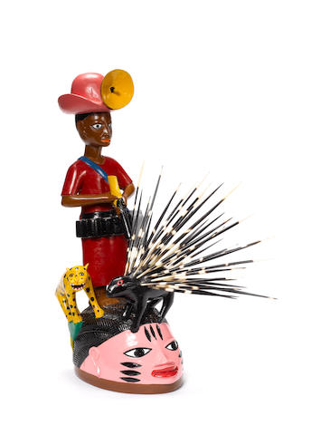 Kifouli Dossou Ajija 24 13/16in (63cm) high