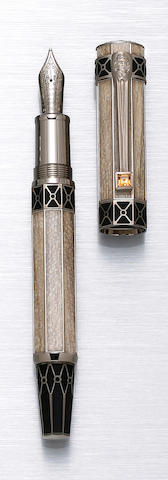 MONTBLANC:  John Adams Limited Edition America's Signatures for Freedom Series Fountain Pen