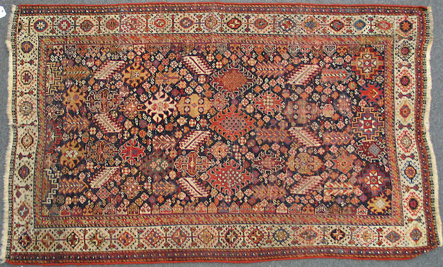 A Qashqa'i rug size approximately 4ft. 4in. x 6ft. 9in.