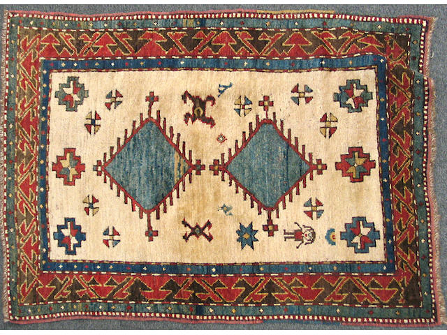 A Bordjalou Kazak Caucasus, size approximately 3ft. 3in. x 4ft. 1in.