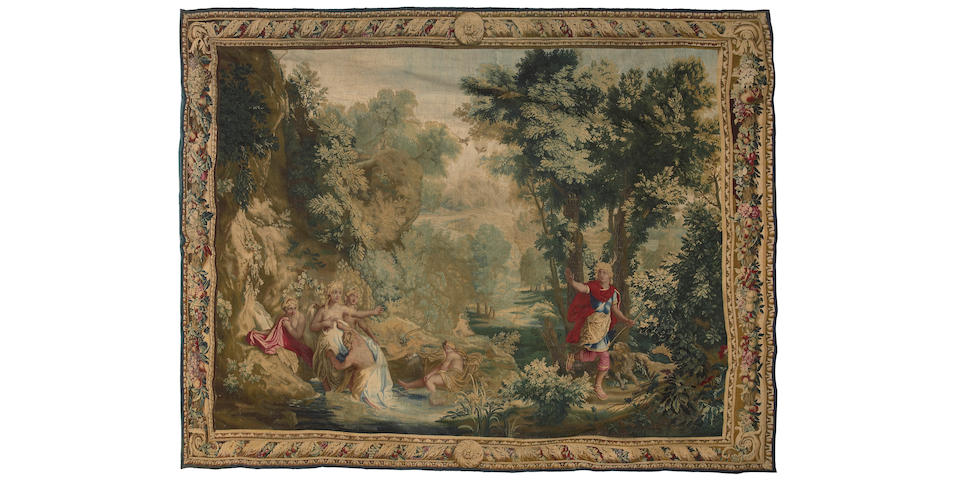 A Louis XIV Gobelin mythological tapestry
