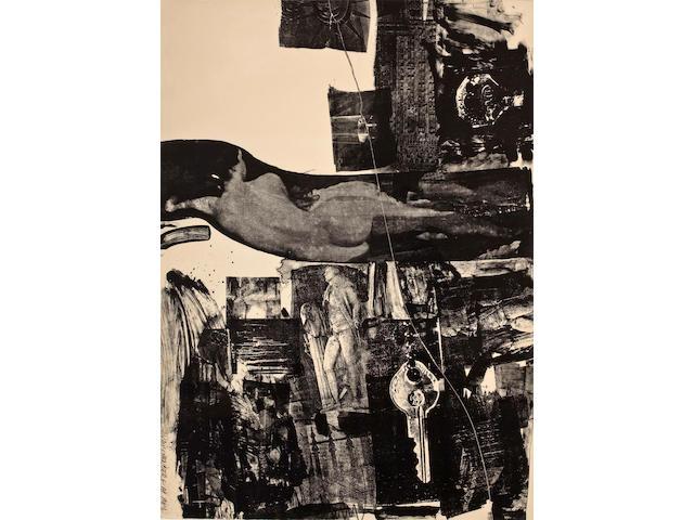 Robert Rauschenberg (American, 1925-2008); Breakthrough I;