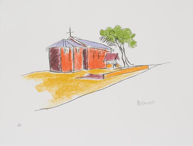 Nelson Rolihlahla Mandela (South African, born 1918) The Robben Island series:  26 3/16 x 19 11/16in (66.5 x 50cm) each unframed