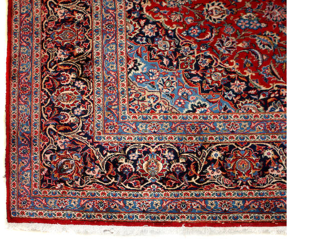 A Kashan carpet