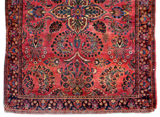 A Hamadan rug