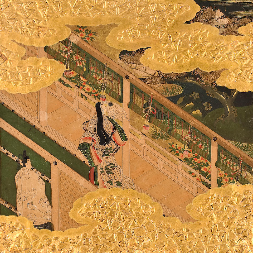 TOSA SCHOOL, 17TH CENTURY Scenes from The Tale of Genji