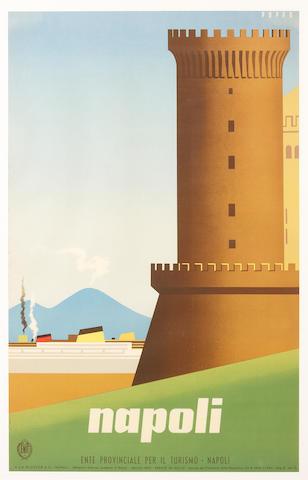Mario Puppo (Italian, 1905-1977); Napoli;