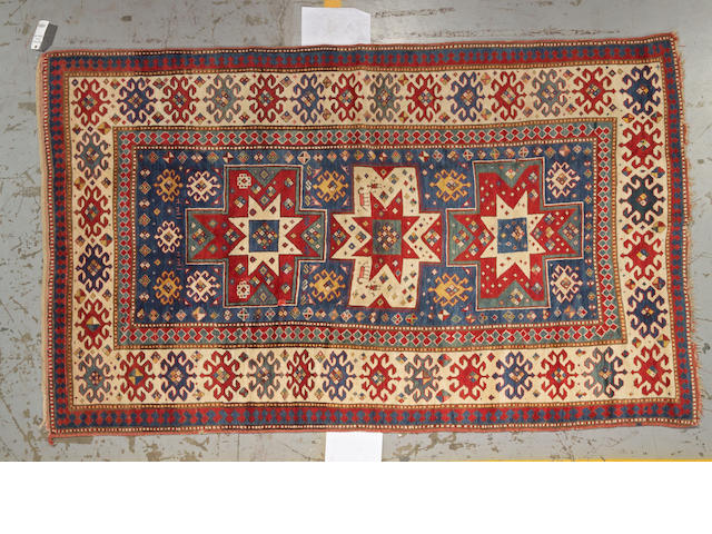 A Kazak rug Caucasus, size approximately 4ft. 10in. x 6ft. 8in.