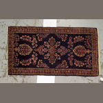 A Sarouk carpet Central Persia, size approximately 3ft. x 5ft.