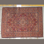 A Kashan  ru0 Central Persia, size approximately 4ft. 4in. x 6ft. 8in.
