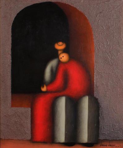 Jesus Mariano Leuus (Mexican, born 1948) El amor, 1969 23 3/4 x 19 3/4in