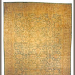 A Indo-Tabriz carpet India, size approximately 13ft. 9in. x 21ft.