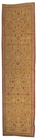 A Karabagh runner Caucasus, size approximately 3ft. 9in. x 14ft. 6in.