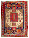 A Karachof Kazak rug South Caucasus, size approximately 4ft. 1in. x 6ft. 7in.
