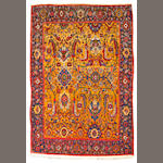 A Senneh rug Central Persia, size approximately 4ft. 3in. x 6ft. 5in.
