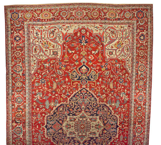 A Serapi carpet Northwest Persia size approximately 14ft. x 24ft.