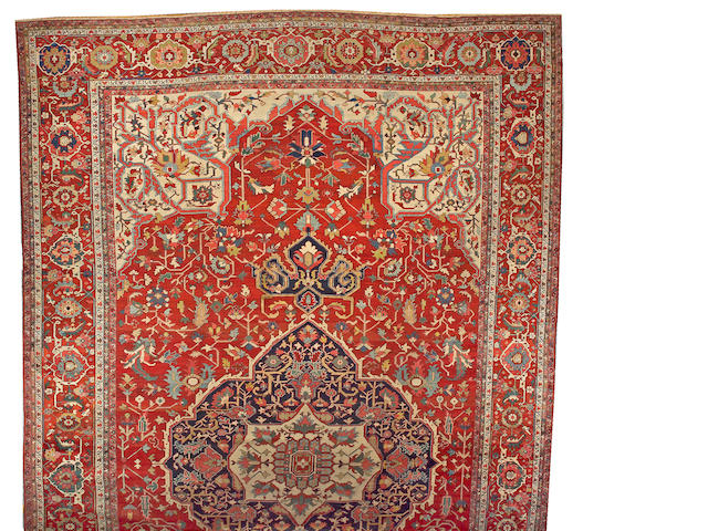 A Serapi carpet Northwest Persia, size approximately 14ft. x 24ft.