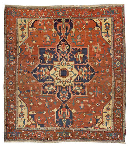 A Serapi carpet Northwest Persia, size approximately 9ft. x 12ft. 4in.