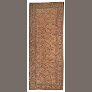 A Fereghan long carpet Central Persia, size approximately 6ft. 5in. x 16ft. 9in.