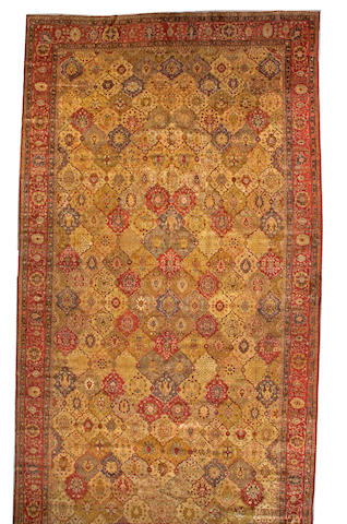 A Sivas long carpet Anatolia, size approximately 9ft. x 20ft.