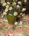 Richard Alan Schmid (American, born 1934) White roses, 1967 30 x 24in