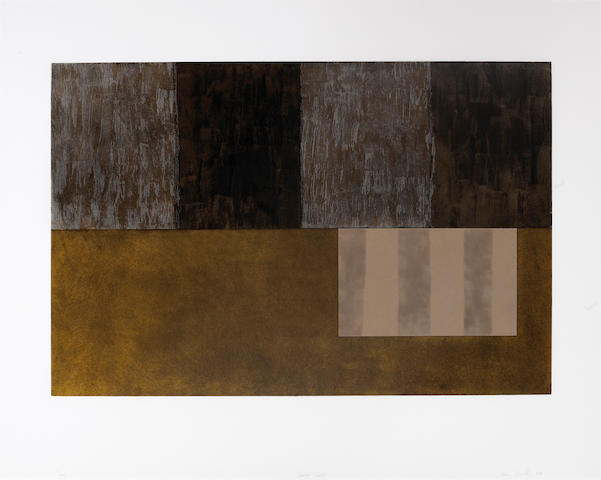 Sean Scully (Irish, born 1946); Sotto Voce;