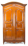 A Louis XV walnut armoire
