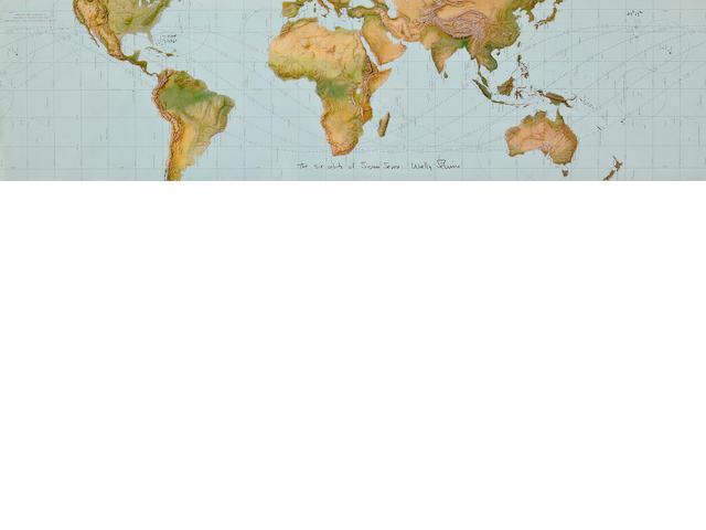 MERCURY ATLAS 8 ORBITAL CHART.