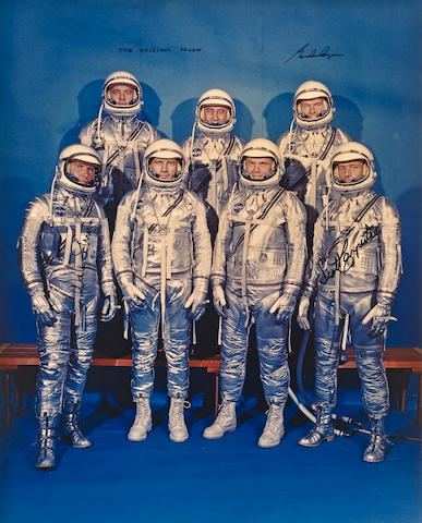 THE MERCURY SEVEN.