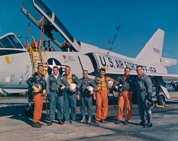 THE MERCURY SEVEN FLYERS.