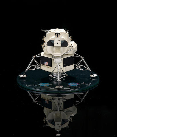 GORDON COOPER'S APOLLO LUNAR MODULE MODEL.