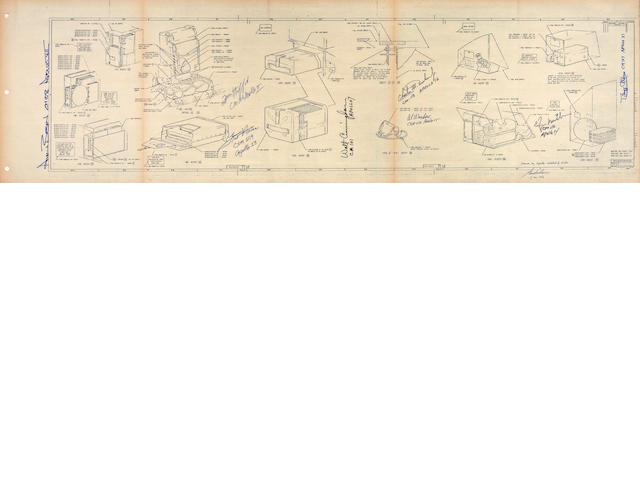 COOPER'S APOLLO CREW PERSONAL EQUIPMENT BLUEPRINT.