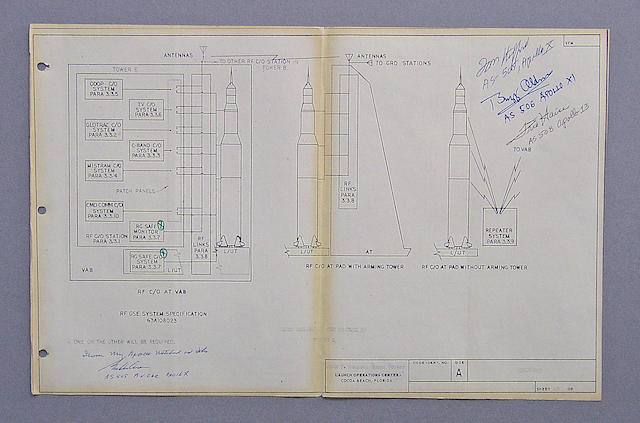 COOPER'S SATURN V BLUEPRINT.