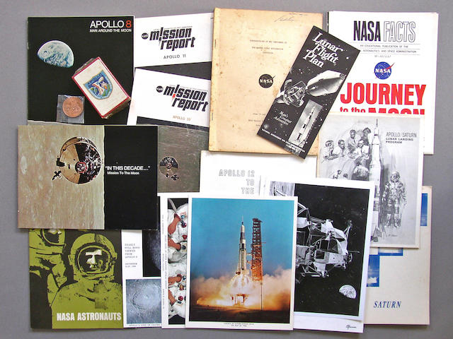 COOPER'S APOLLO-SATURN PAPERS AND SOUVENIRS.