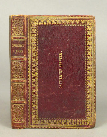 SPENCER, ORSON. Letters Regarding the Most Prominent Doctrines of the Church of Jesus Christ.... [Liverpool: 1848]15