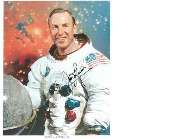 JIM LOVELL AT THE NORTH POLE FOR APOLLO 13 ANNIVERSARY.