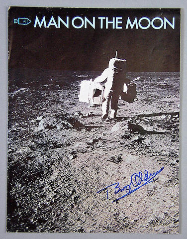 MAN ON THE MOON—ROCKWELL SPACE DIVISION