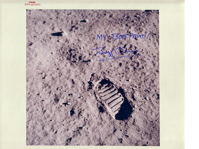 BOOTPRINT ON THE MOON.
