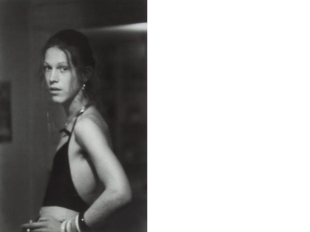 Nan Goldin (American, born 1953); David at Grove Street, Boston;