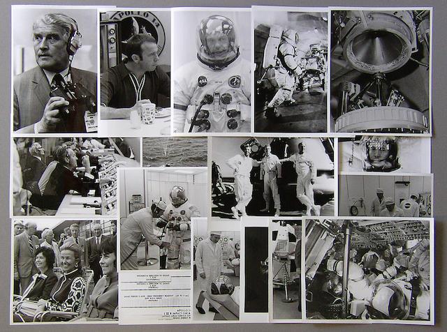 APOLLO 14 NASA PHOTOGRAPHS.