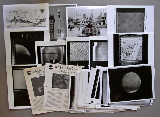 NASA MARS EXPLORATION PHOTOGRAPHS.